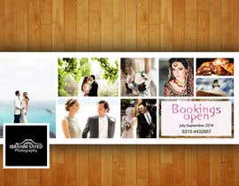 faam682 tarafından Design a Banner/Cover Photo for a Wedding-Photography Facebook Page için no 56