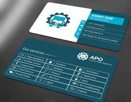 #8 for Design a Logo and Business Cards for Truck & Trailer Repair Company by ALLHAJJ17