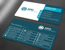 #9 for Design a Logo and Business Cards for Truck & Trailer Repair Company by ALLHAJJ17