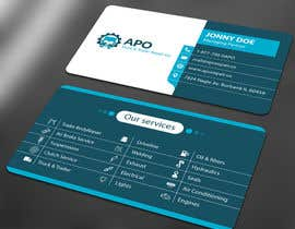 #11 for Design a Logo and Business Cards for Truck & Trailer Repair Company by ALLHAJJ17