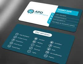 #13 for Design a Logo and Business Cards for Truck & Trailer Repair Company by ALLHAJJ17