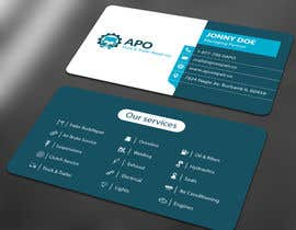 #14 for Design a Logo and Business Cards for Truck & Trailer Repair Company by ALLHAJJ17