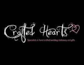 nº 69 pour Design a Logo for Crafted Hearts par Vanai