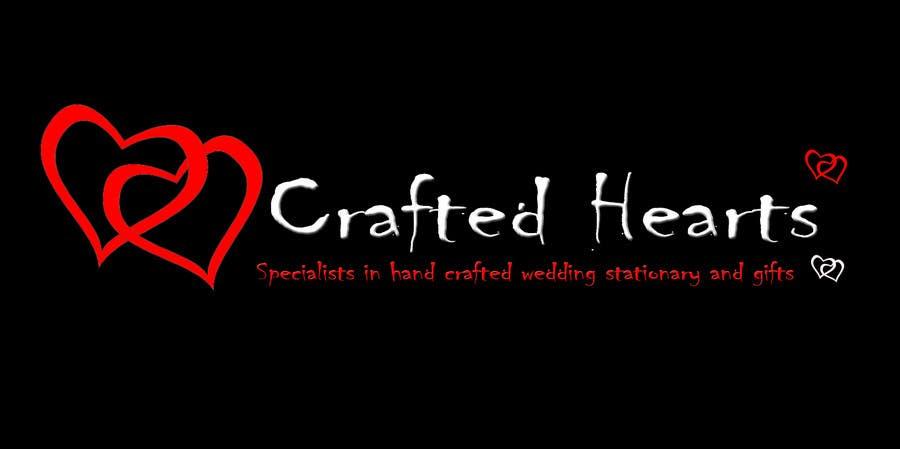 Bài tham dự cuộc thi #48 cho Design a Logo for Crafted Hearts
