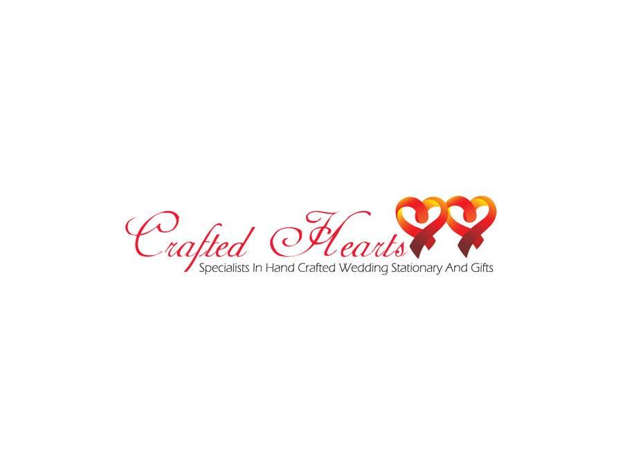 Kilpailutyö #41 kilpailussa Design a Logo for Crafted Hearts