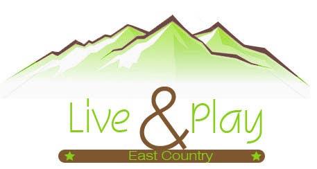 Konkurrenceindlæg #                                        189                                      for                                         Live and Play East County           / logo design for website