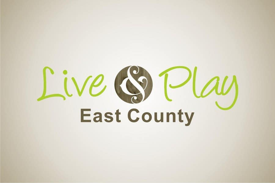 Bài tham dự cuộc thi #80 cho Live and Play East County           / logo design for website
