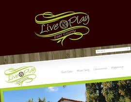 #89 para Live and Play East County           / logo design for website por lastmimzy