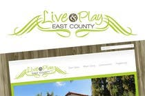 Graphic Design Konkurrenceindlæg #135 for Live and Play East County           / logo design for website