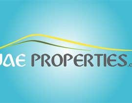 #270 para Logo Design for uaeproperties.com por Alesso