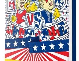 Nro 19 kilpailuun Political Coloring Book Cover käyttäjältä nine9dezine