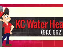 #1 for Design a Banner for KC Water Heater by dirak696