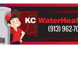 #8 for Design a Banner for KC Water Heater af dirak696