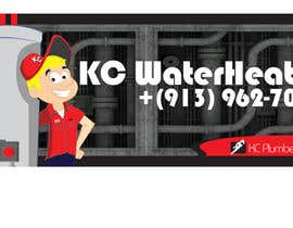 #27 for Design a Banner for KC Water Heater af dirak696