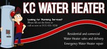 Graphic Design Contest Entry #7 for Design a Banner for KC Water Heater