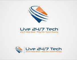 mille84 tarafından Live 24/7 Tech Logo için no 108