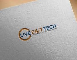 WINNER1212 tarafından Live 24/7 Tech Logo için no 64