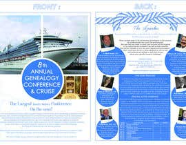 #21 untuk Brochure Design for Annual Conference and Cruise oleh PinzLedesign