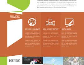 #61 for Design a Website Mockup for a web development company af suryabeniwal
