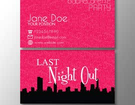 #21 untuk Design some Business Cards for my business running bachelorette parties oleh Mechaion