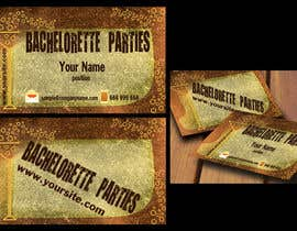 #52 untuk Design some Business Cards for my business running bachelorette parties oleh agencja
