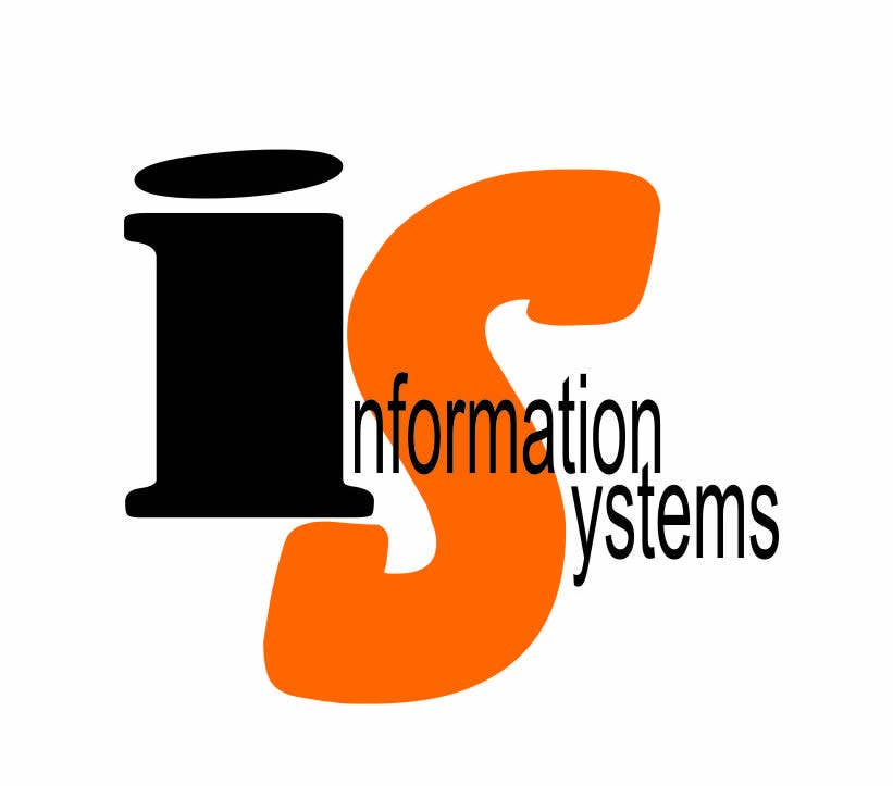 """Proposition n°4 du concours Design a Logo for """"Information Systems"""" chair"""