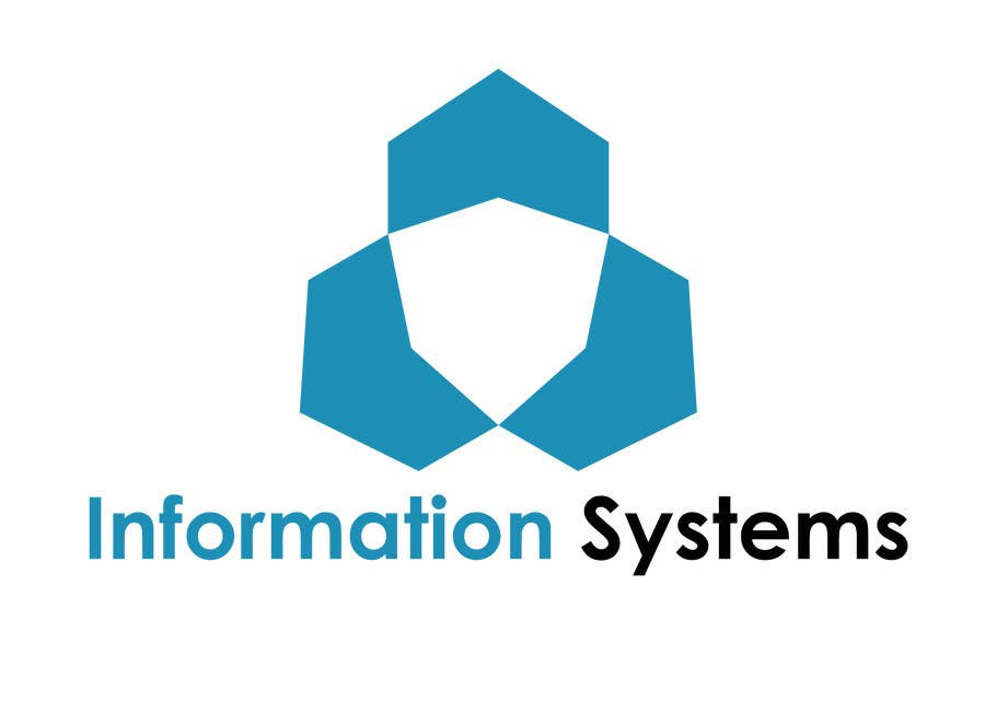 "Proposition n°1 du concours Design a Logo for ""Information Systems"" chair"