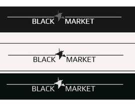 Nro 28 kilpailuun Webshop logo (BlackStar.Market) käyttäjältä lourens7