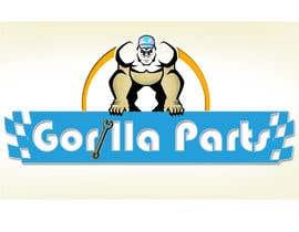 #10 untuk Gorilla mascot required... oleh darkemo6876