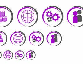 #9 untuk Design some small/medium icons for website oleh EdgarSeda