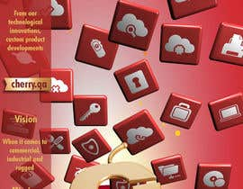 #57 para Brochure Design for Cherry Computers Co. W.L.L. por DirtyMiceDesign