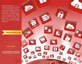 #49 para Brochure Design for Cherry Computers Co. W.L.L. por DYNAMICWINGS
