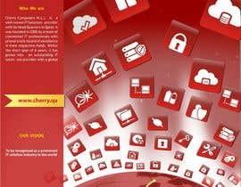 #55 para Brochure Design for Cherry Computers Co. W.L.L. por DYNAMICWINGS