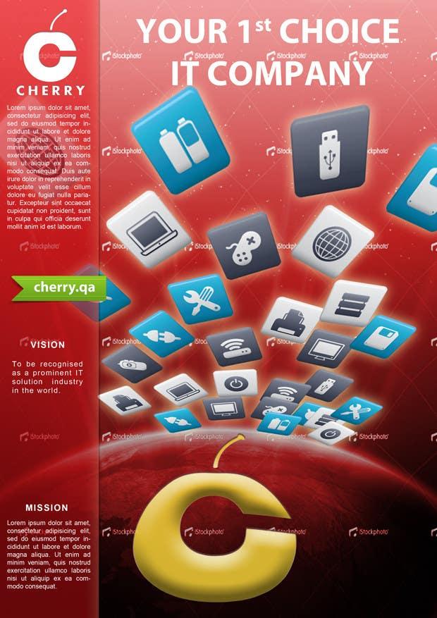 Inscrição nº 12 do Concurso para Brochure Design for Cherry Computers Co. W.L.L.