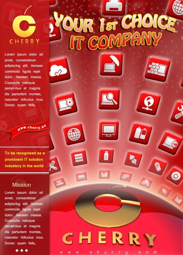 Inscrição nº 46 do Concurso para Brochure Design for Cherry Computers Co. W.L.L.