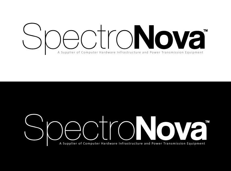 #25 for Design a Logo for SpectroNova: A Supplier of Computer Hardware Infrastructure and Power Transmission Equipment by creativeartist06