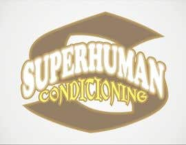 nº 17 pour Design a 'comic book style' Logo for: Superhuman Conditioning par artist4