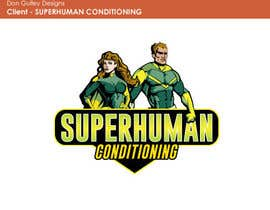 nº 25 pour Design a 'comic book style' Logo for: Superhuman Conditioning par dongulley