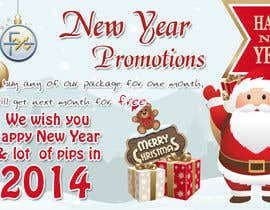 #62 for Design a Banner for New Year Promotion by praveencp
