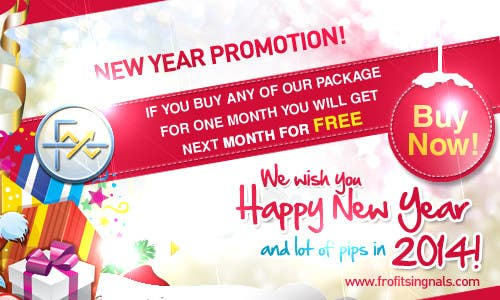 #44 for Design a Banner for New Year Promotion by mediatronics