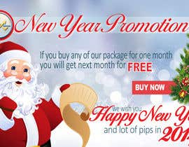 #63 for Design a Banner for New Year Promotion by victorianeyes