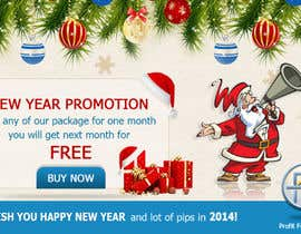#38 for Design a Banner for New Year Promotion by mydZnecoz