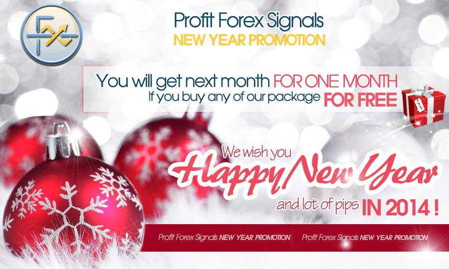#25 for Design a Banner for New Year Promotion by RERTHUSI