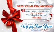 Contest Entry #50 for Design a Banner for New Year Promotion