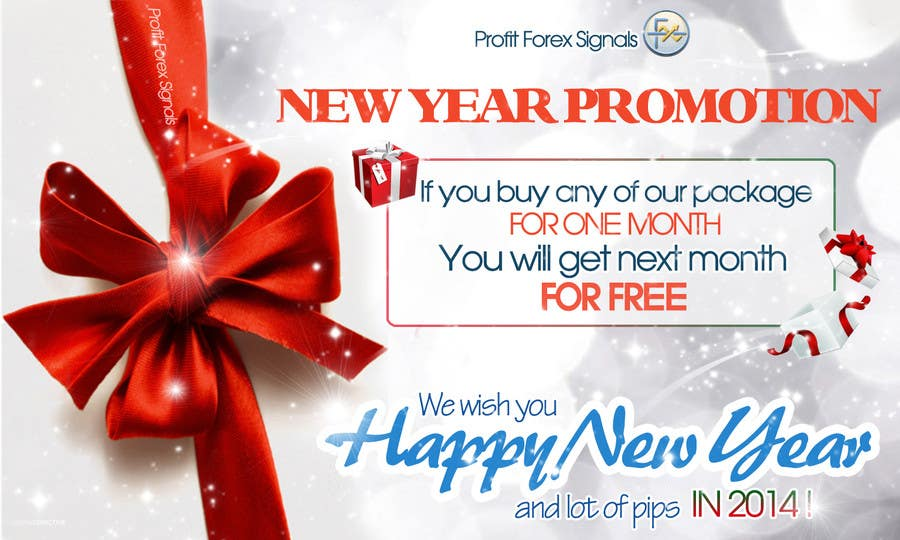 #50 for Design a Banner for New Year Promotion by RERTHUSI