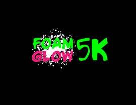 smartdesigner007 tarafından Design a Logo for Foam Glow 5K için no 56