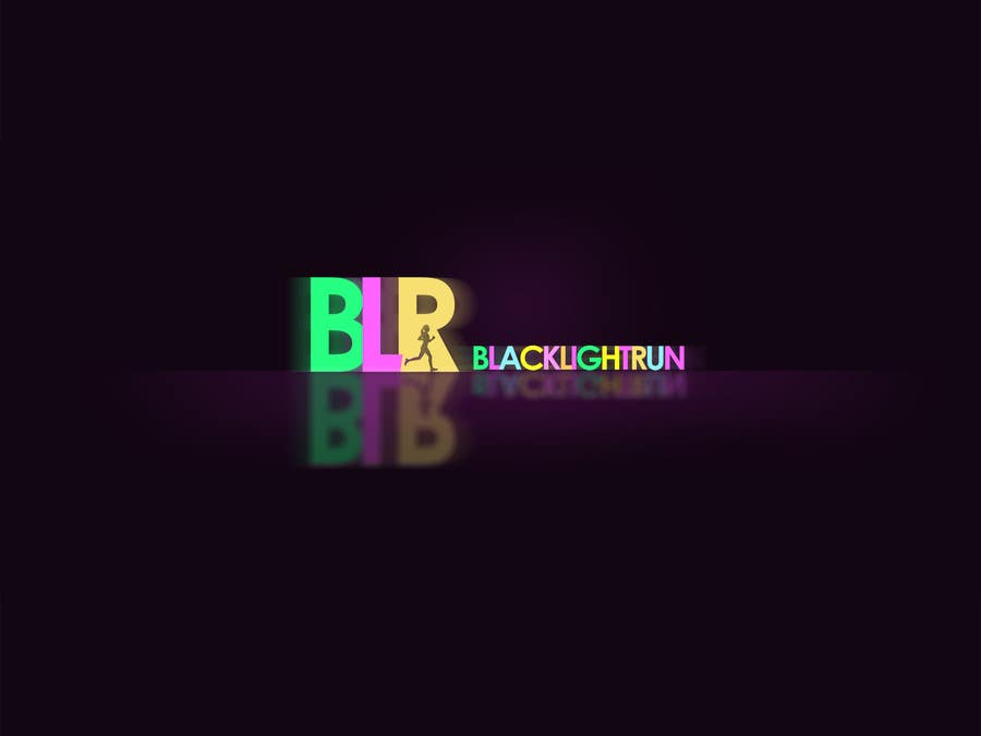 Konkurrenceindlæg #40 for Design a Logo for Blacklight Run