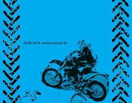 Nro 1 kilpailuun Разработка постера для приглашения на соревнования по мотокроссу käyttäjältä WorkerDenis