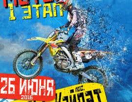 Nro 7 kilpailuun Разработка постера для приглашения на соревнования по мотокроссу käyttäjältä B1sher