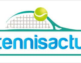 #7 cho Make a logo for TennisActu a new rebranding website about tennis bởi swethanagaraj